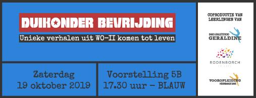 Zaterdag 19/10 17.30 uur - Groep BLAUW [5B]